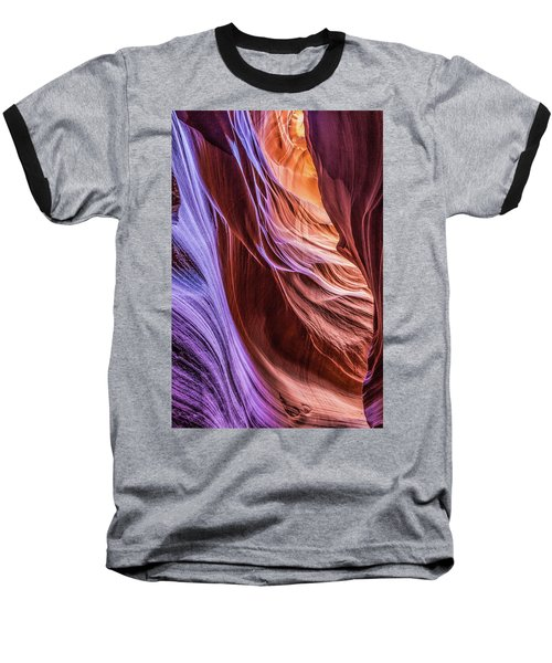 Antelope Canyon Air Glow Baseball T-Shirt