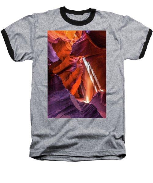 Antelope Canyon Lightshaft 3 Baseball T-Shirt