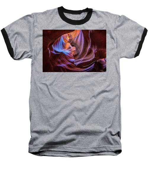 Antelope Canyon Swirl Baseball T-Shirt