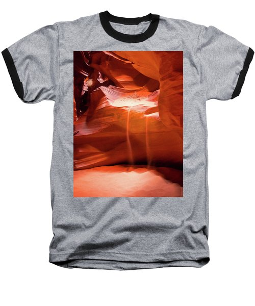Antelope Canyon - The Falls Baseball T-Shirt