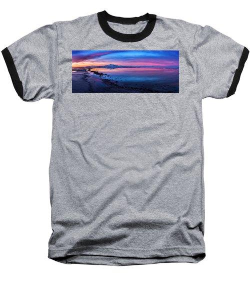 Antelope Island Sunrise Baseball T-Shirt