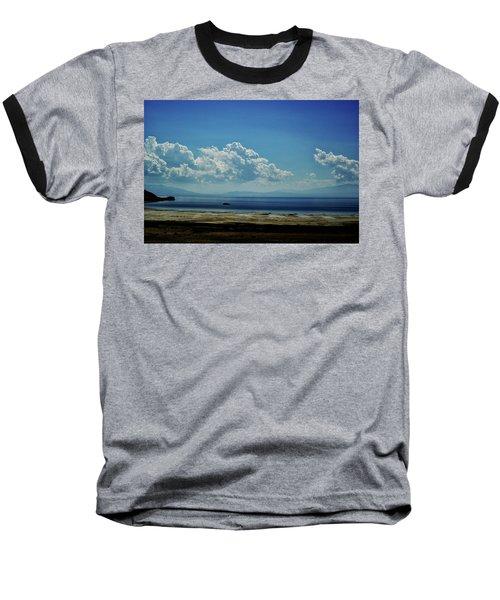 Antelope Island, Utah Baseball T-Shirt