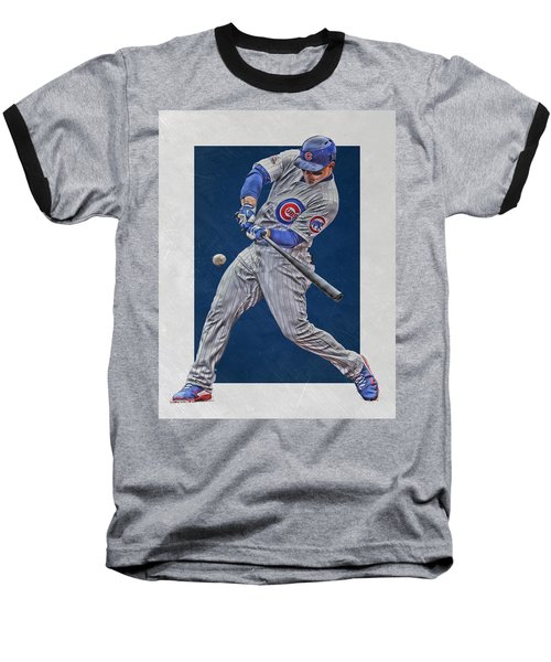 Anthony Rizzo Chicago Cubs Art 1 Baseball T-Shirt