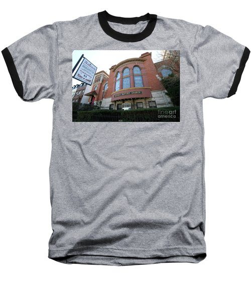 Antioch Baptist Church Baseball T-Shirt