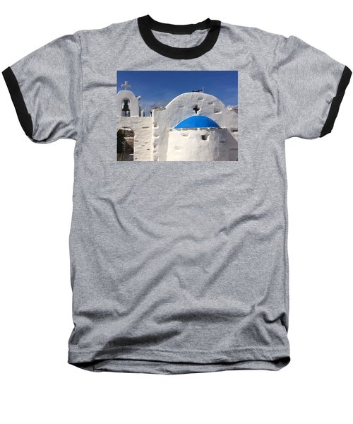 Antiparos Island Greece  Baseball T-Shirt