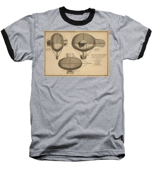 Antique Aeronautics Baseball T-Shirt