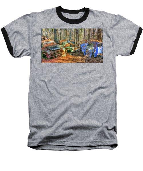 Antique Trucks Baseball T-Shirt