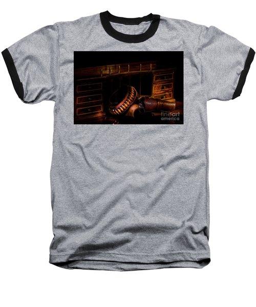 Antique Desk Baseball T-Shirt