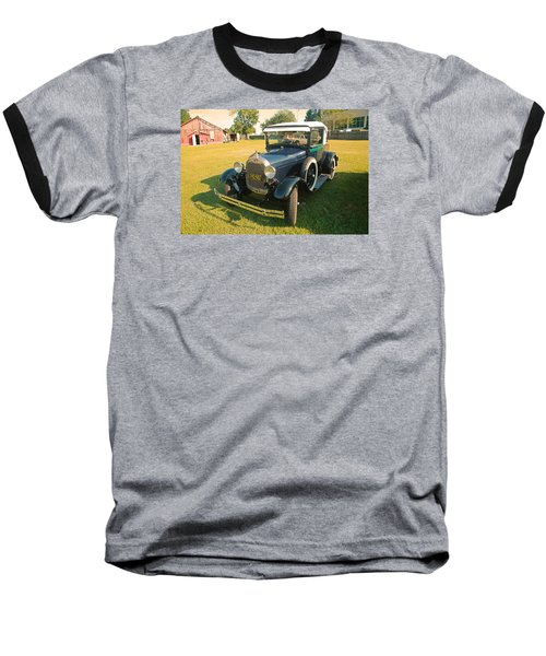 Antique Ford Car Baseball T-Shirt by Ronald Olivier