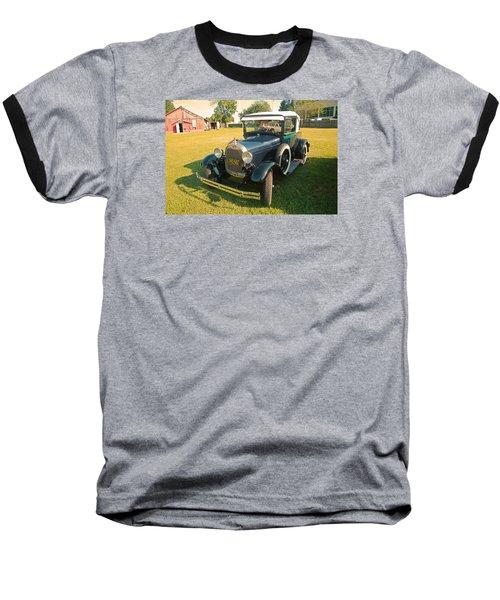 Antique Ford Car Baseball T-Shirt