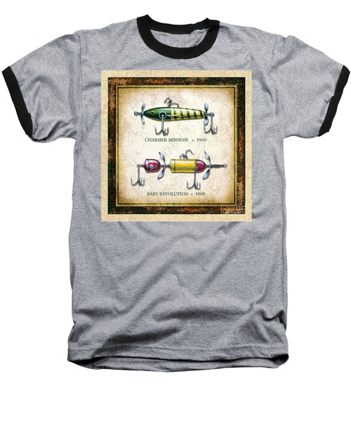 Antique Lure Panel One Baseball T-Shirt