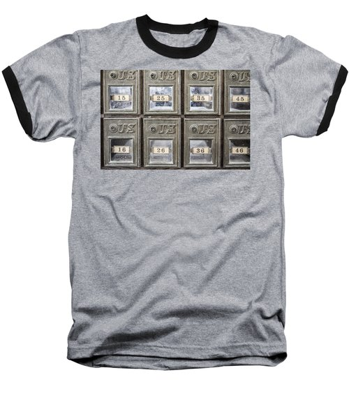 Antique Mailbox Baseball T-Shirt
