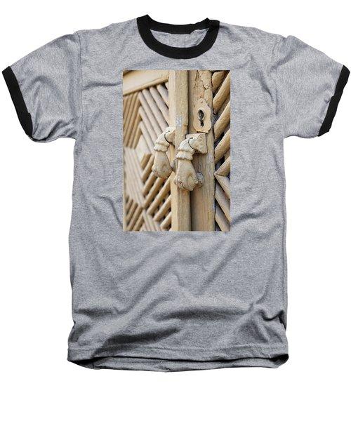 Antique Mediterranean Door-knocker Baseball T-Shirt by Angelo DeVal