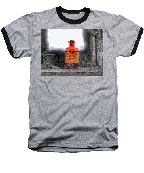 Antique Mercurochrome Hynson Westcott And Dunning Inc. Medicine Bottle - Maryland Glass Corporation Baseball T-Shirt