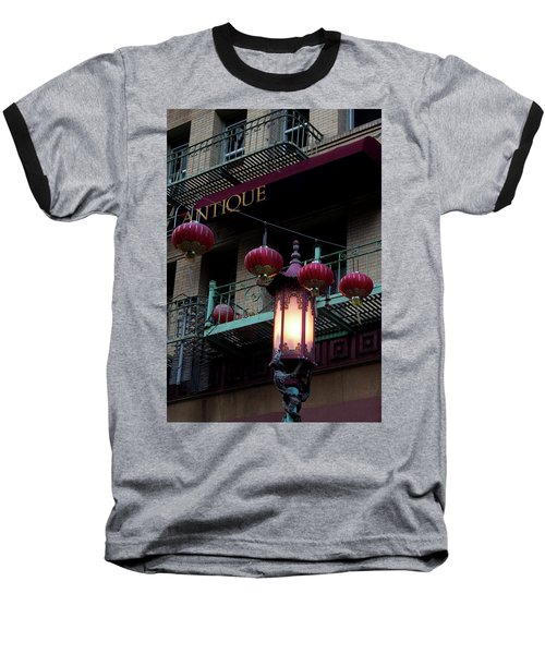 Antique Peking Baseball T-Shirt