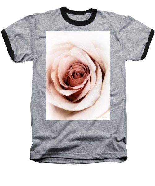 Antique Rose Baseball T-Shirt