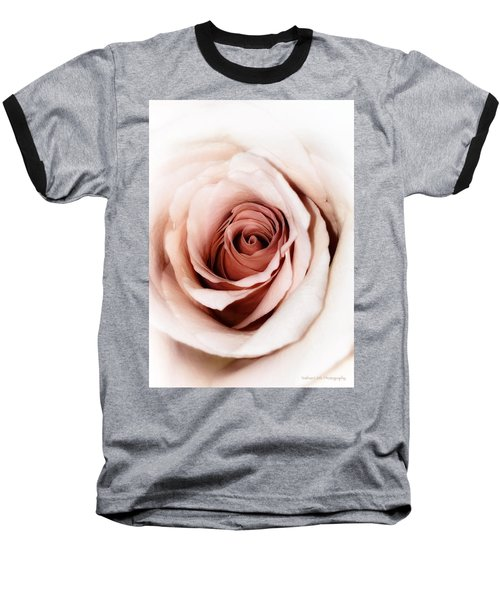 Antique Rose Baseball T-Shirt