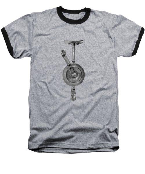 Antique Shoulder Drill Front Bw Baseball T-Shirt