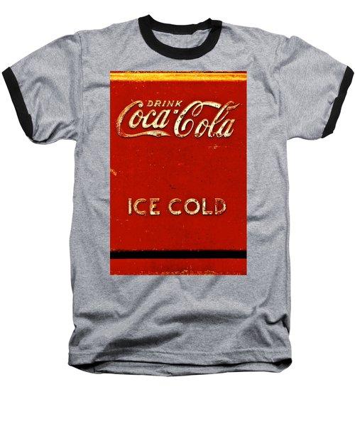 Antique Soda Cooler 6 Baseball T-Shirt