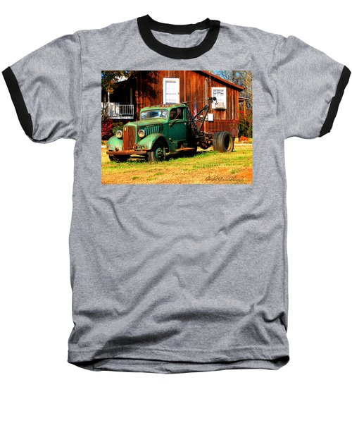 Antique Tow Truck Baseball T-Shirt