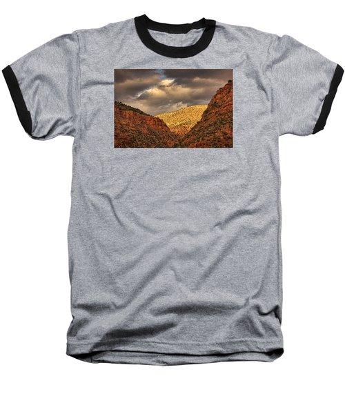 Antique Train Ride Pnt Baseball T-Shirt
