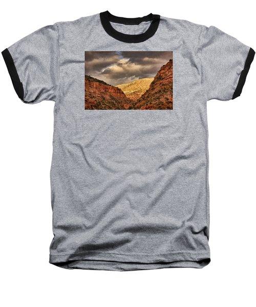 Antique Train Ride Txt Baseball T-Shirt