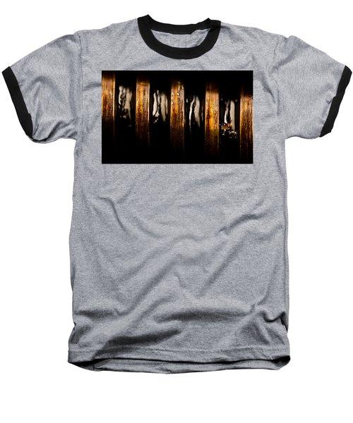 Antique Vise Worm Gear Baseball T-Shirt