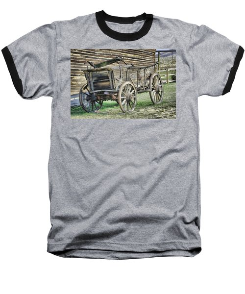 Antique Wagon Baseball T-Shirt