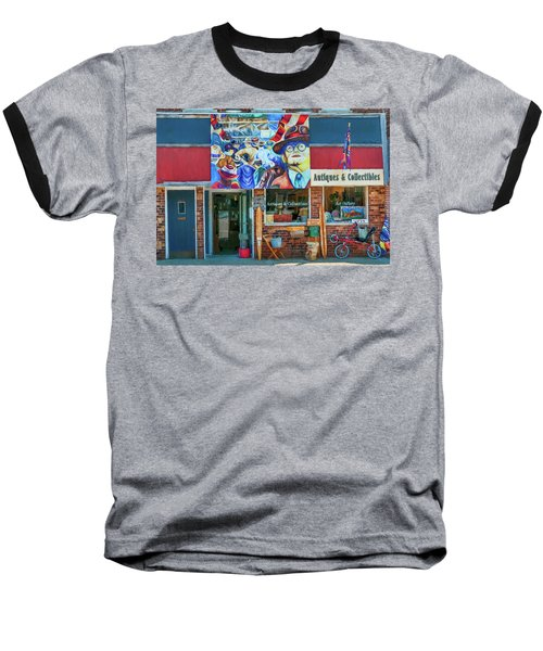 Antiques And Collectibles Baseball T-Shirt by Trey Foerster