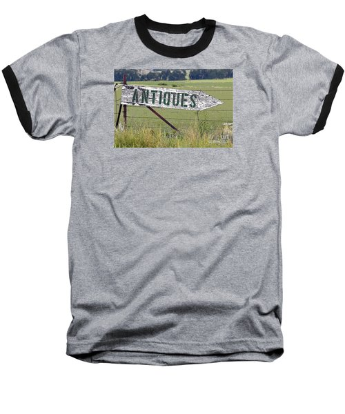 Baseball T-Shirt featuring the photograph Antiques  by Juls Adams