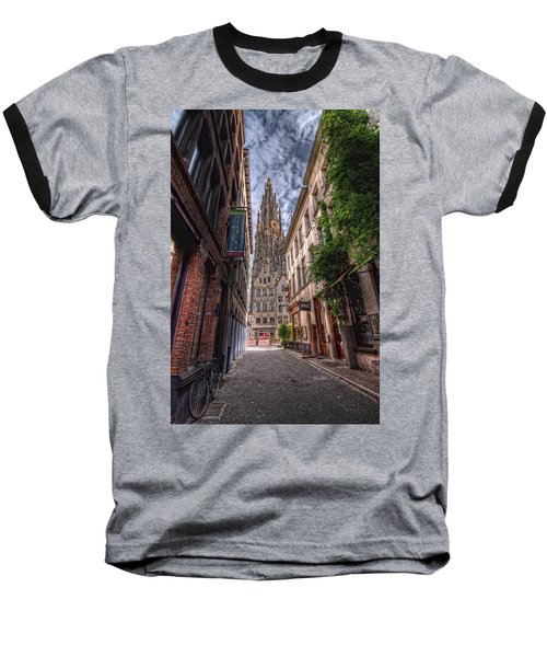 Antwerp Cathedral Baseball T-Shirt