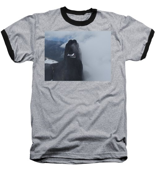 Aop At Black Tusk Baseball T-Shirt by Mark Alan Perry