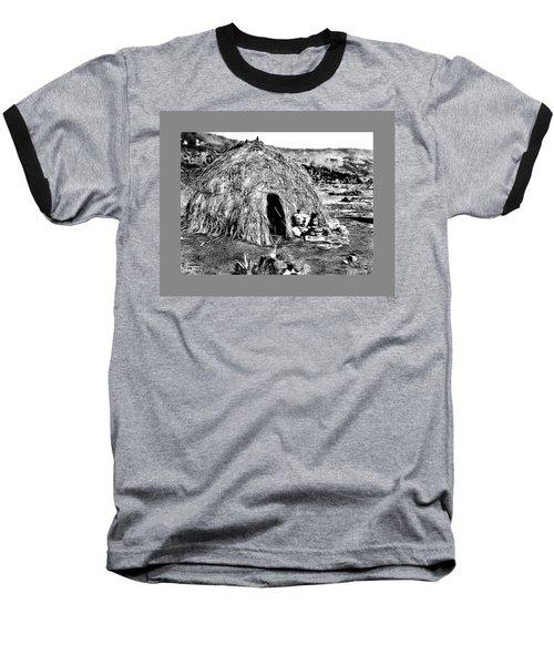 Apache Wikiup Baseball T-Shirt