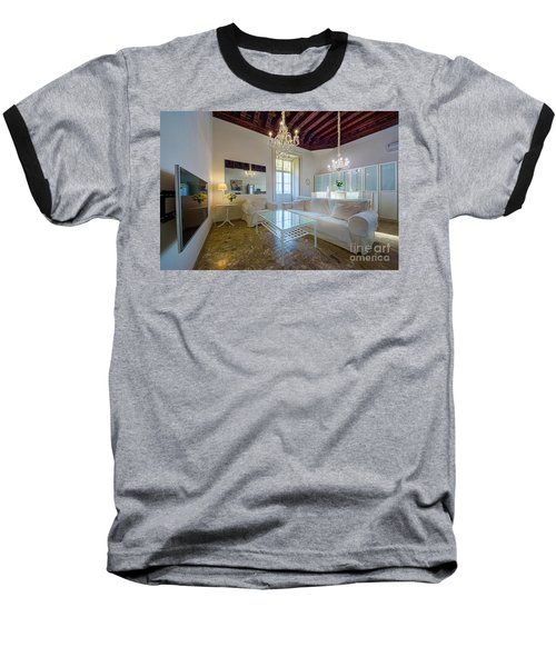 Baseball T-Shirt featuring the photograph Apartment In The Heart Of Cadiz 17th Century by Pablo Avanzini