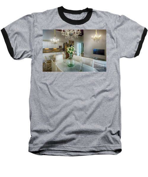 Baseball T-Shirt featuring the photograph Apartment In The Heart Of Cadiz Spain 17th Century by Pablo Avanzini