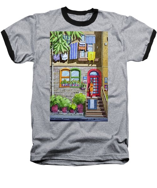 Apartment With Red Door Baseball T-Shirt