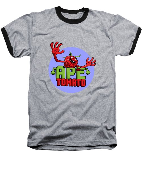 Ape Tomato Blue Purple Baseball T-Shirt