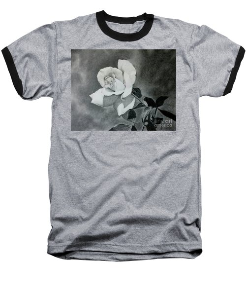 Aperitif Rose Baseball T-Shirt by Terri Mills