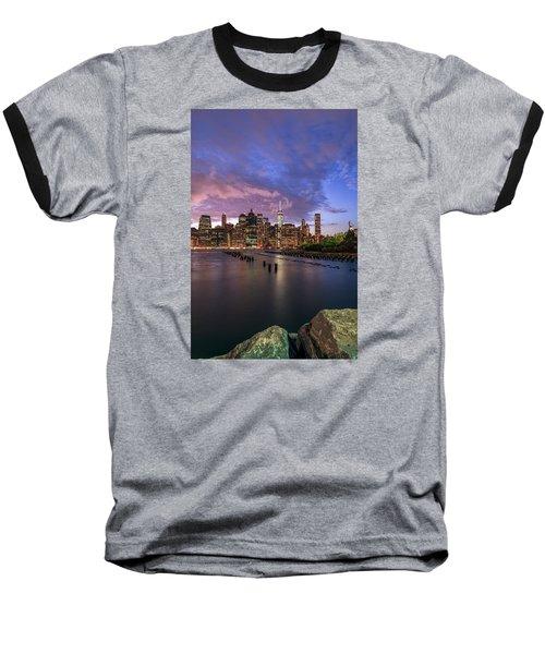 Apocalypse Baseball T-Shirt by Anthony Fields