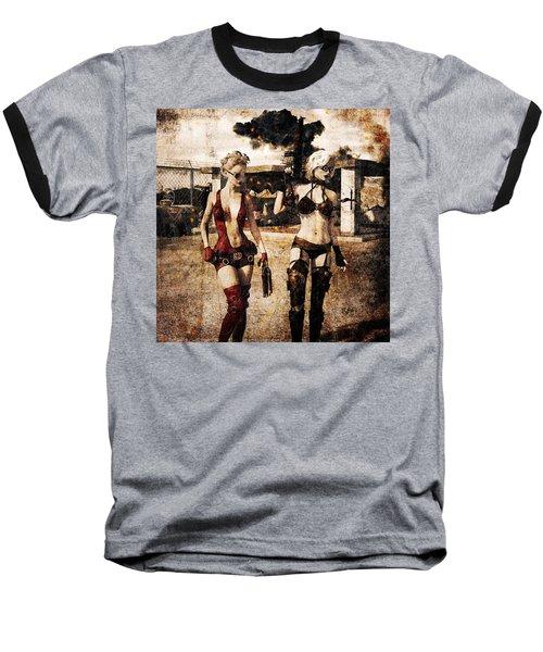 Apocalypse War 2 Baseball T-Shirt