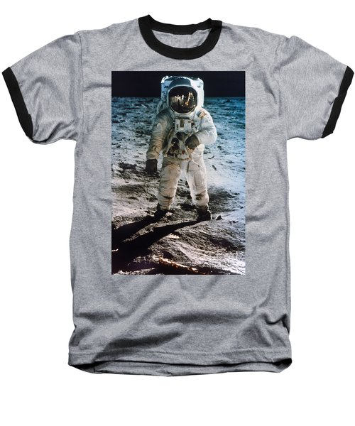 Apollo 11 Buzz Aldrin Baseball T-Shirt