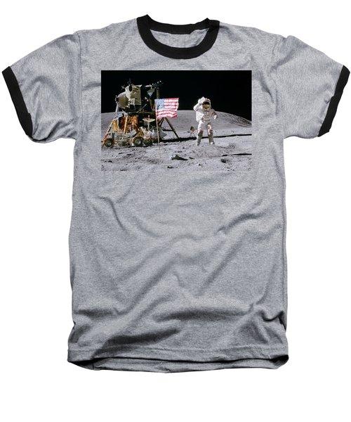 Apollo 16 Baseball T-Shirt