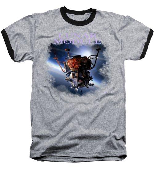 Apollo 9 Lm Baseball T-Shirt
