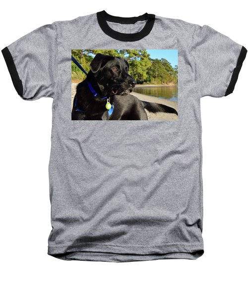 Apollo On The Beach Baseball T-Shirt