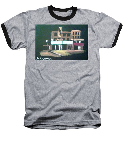 Apollo Theater New York City Baseball T-Shirt