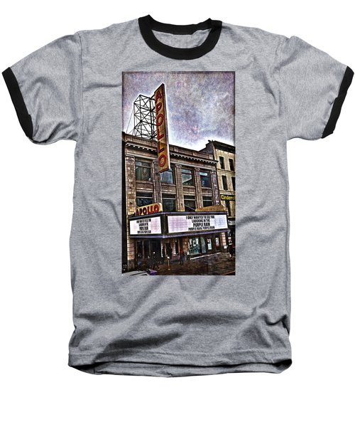 Apollo Theatre, Harlem Baseball T-Shirt