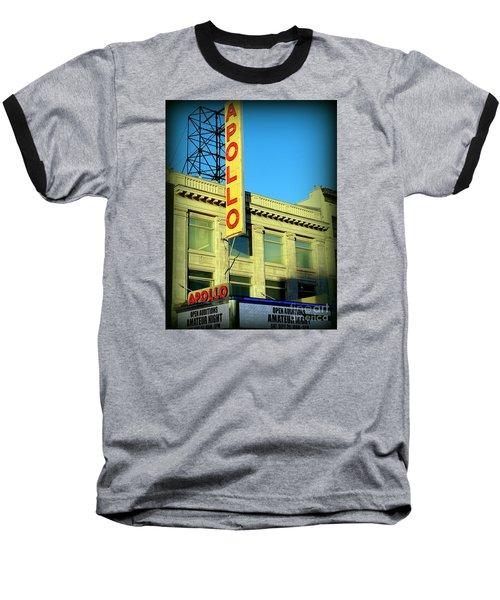 Apollo Vignette Baseball T-Shirt by Ed Weidman