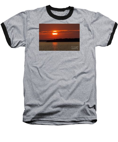 Apostle Island Sunset Baseball T-Shirt