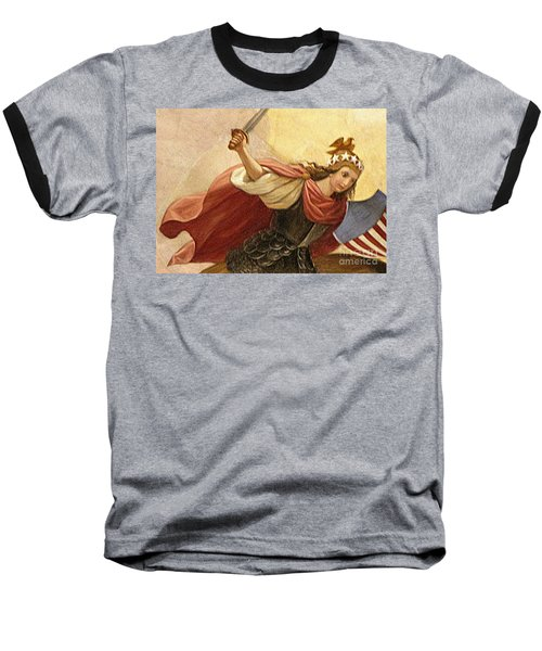 Apotheosis Of Washington 4 Baseball T-Shirt