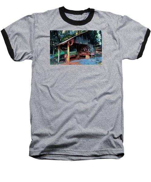 Appalachia Wagon Waiting For Repair  Baseball T-Shirt